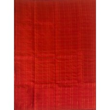 Red checks with self border