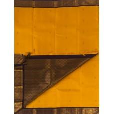 Yellow with purple border