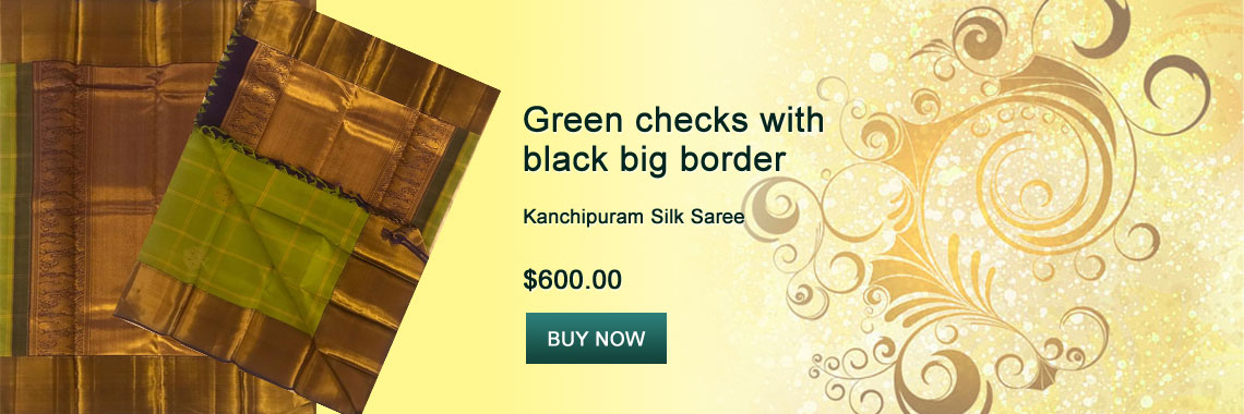 Green checks with black big border