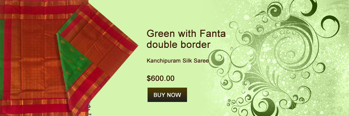 Green with Fanta double border